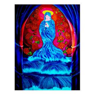 Cartão Postal Maria no rosário