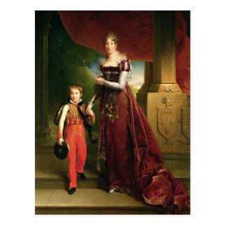 Cartão Postal Marie Amelie de Bourbon