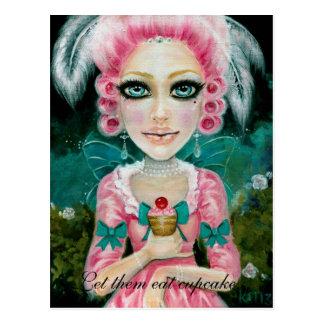 Cartão Postal Marie Antoinette dans le jardin