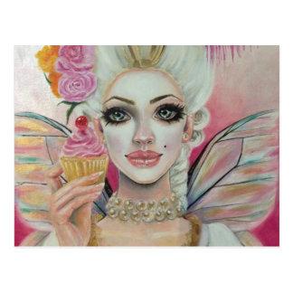 Cartão Postal Marie Antoinette - rainha do cupcake