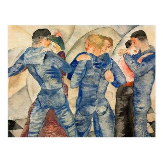 Cartão Postal Marinheiros da dança