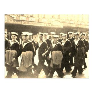 Cartão Postal Marinheiros do Aussie do vintage