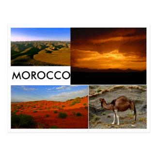 Cartão Postal Marrocos