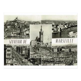 Cartão Postal Marselha, multiview adiantado