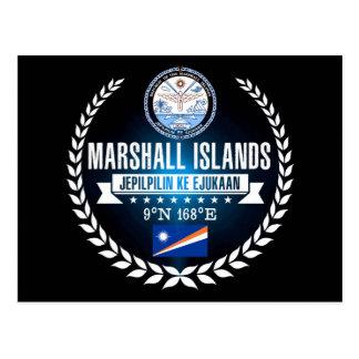 Cartão Postal Marshall Islands