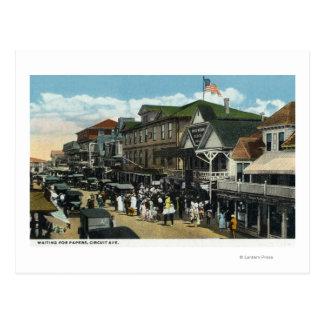 Cartão Postal Martha's Vineyard, cena da avenida do circuito