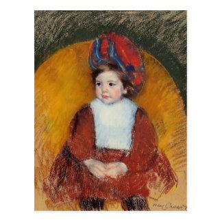 Cartão Postal Mary Cassatt: Margot