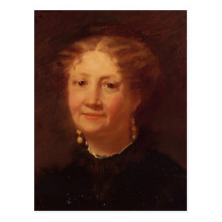 Cartão Postal Mary Cassatt: Retrato da senhora Cordier