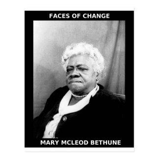 Cartão Postal Mary McLeod Bethune