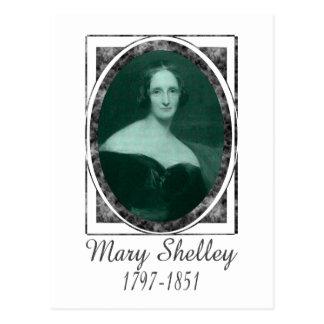 Cartão Postal Mary Shelley