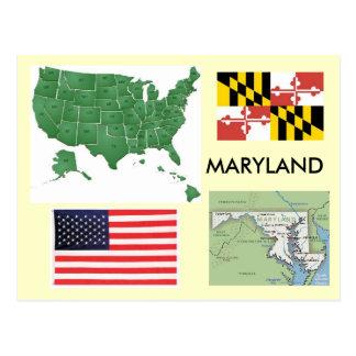 Cartão Postal Maryland, EUA
