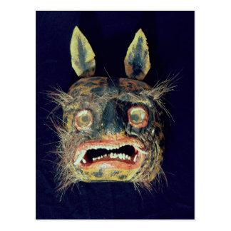 Cartão Postal Máscara