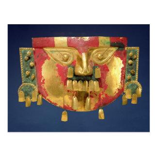 Cartão Postal Máscara do Inca