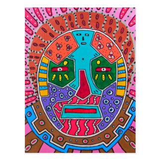 Cartão Postal Máscara do Shaman