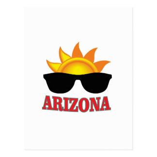 Cartão Postal máscaras da arizona yeah