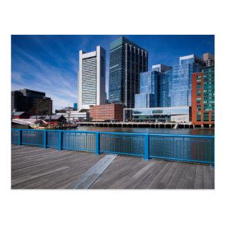 Cartão Postal Massachusetts, Boston, Federal Reserve deposita
