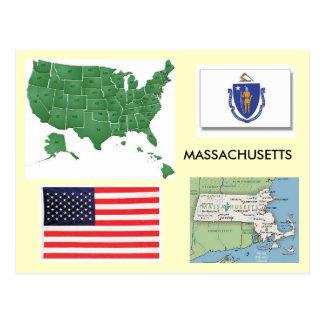 Cartão Postal Massachusetts, EUA