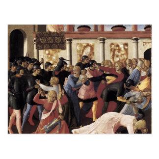 Cartão Postal Massacre do Fra Angelico- dos Innocents