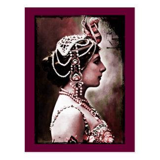 Cartão Postal Mata Hari 1910