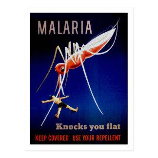 Cartão Postal Matares da malária