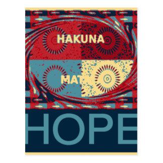 Cartão Postal Matata de Hakuna