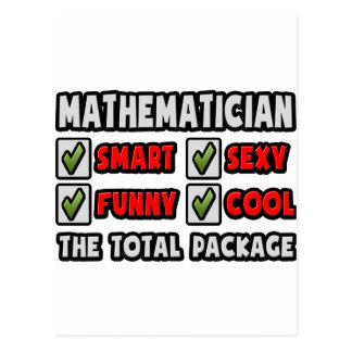 Cartão Postal Matemático… o pacote total