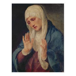 Cartão Postal Mater Dolorosa, 1555
