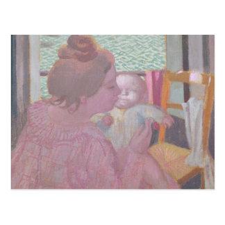 Cartão Postal Maternidade na janela, 1901