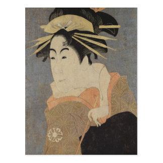 Cartão Postal Matsumoto Yonesaburo no papel