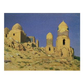 Cartão Postal Mausoléu de Hazreti Shakh-i-Zindeh