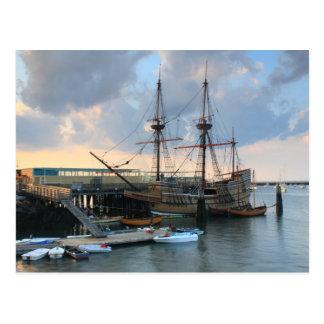Cartão Postal Mayflower II Plymouth