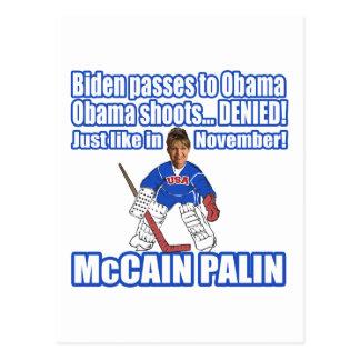 Cartão Postal McCain Palin negado