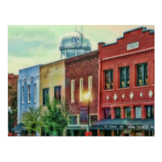 Cartão Postal McKinney do centro histórico Texas