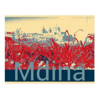 Cartão Postal Mdina