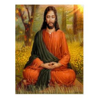 Cartão Postal Meditação do Jesus Cristo