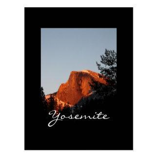 Cartão Postal Meia abóbada de Yosemite