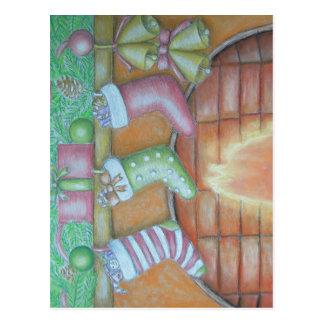Cartão Postal Meia do Natal