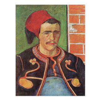Cartão Postal Meia figura de Zouave por Vincent van Gogh