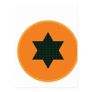 Cartão Postal meia fruta da estrela