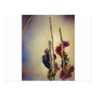 Cartão Postal Meios mistos da árvore dos meios mistos