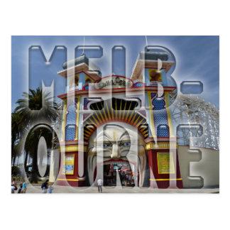 Cartão Postal Melbourne
