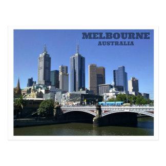 Cartão Postal Melbourne - Austrália