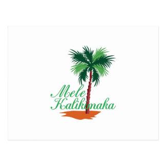 Cartão Postal Mele Kalikimaka