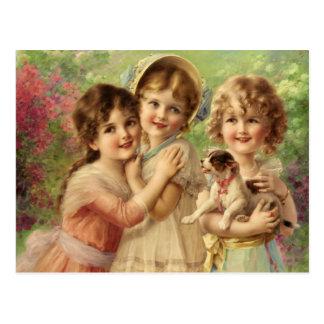 Cartão Postal Melhor dos amigos - Émile Vernon