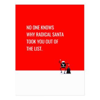Cartão Postal Memes engraçados do removList radical de Papai