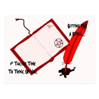 Cartão Postal Memorando de Magickal