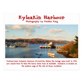 Cartão Postal memória 2 078, porto de Kyleakin, fotografia por…
