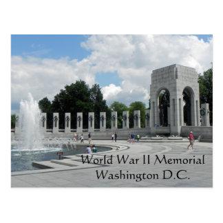 Cartão Postal Memorial da segunda guerra mundial