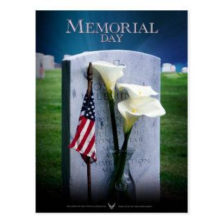 Cartão Postal Memorial Day