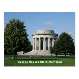 Cartão Postal Memorial de George Rogers Clark